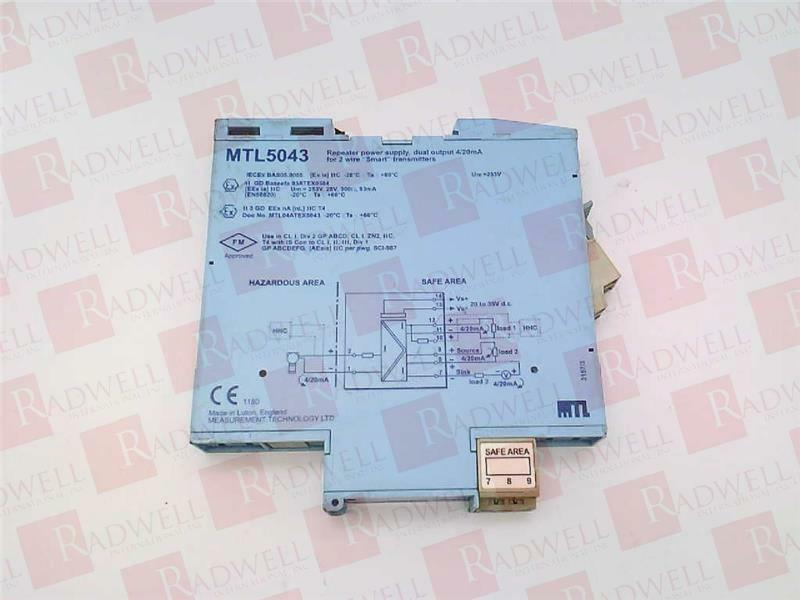USED TESTED CLEANED MTL3011 EATON CORPORATION MTL-3011