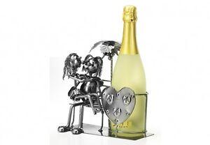 Deko-Brautpaar-Flaschenhalter-aus-Metall-Ohne-Deko-Hochzeitsdeko