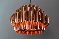 Very rare Copper Pendant Lamp Thorsten Orrling Hans Agne Jakobsson Design 60's