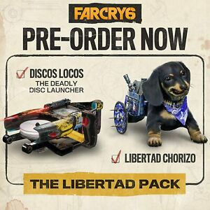 Far Cry 6 Pre-Order DLC The Libertad Pack (NO GAME) PS4/PS5/Xbox One/Series S/X