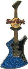 Hard Rock Cafe DALLAS 2003 FANTASY GUITAR Series PIN Blue Glitter - HRC #19461