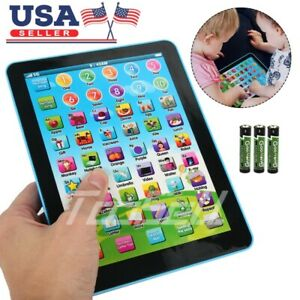 1-7-Year-Old-Toddler-Learning-Voice-Activity-Baby-Kid-Tablet-Pad-Educational-Toy