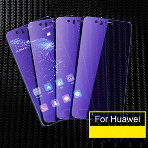 5D-Blue-Ray-Full-Cover-Verre-Trempe-Protecteur-d-039-ecran-pour-Huawei-P20-pro-Lite
