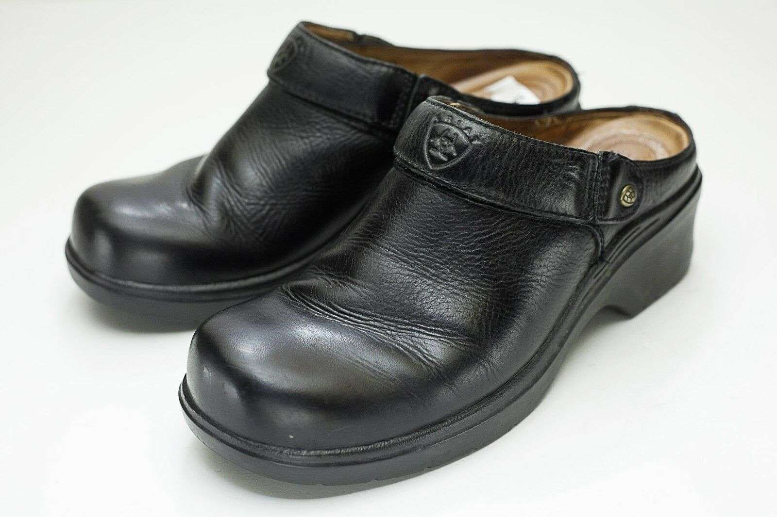 Ariat 7.5 Black Mule Clogs EU 38.5
