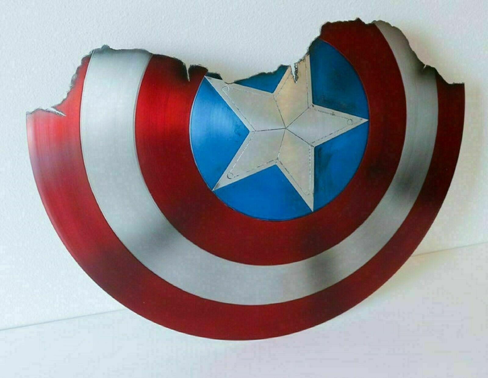 Top Qualität Broken Shield of Captain America Metal Prop Avengers ...