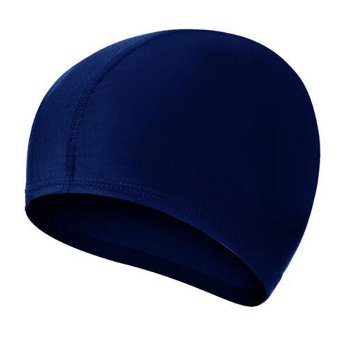 Elastic Waterproof Protect Ears Hat Long Hair Swimming Cap Free Size Jthd