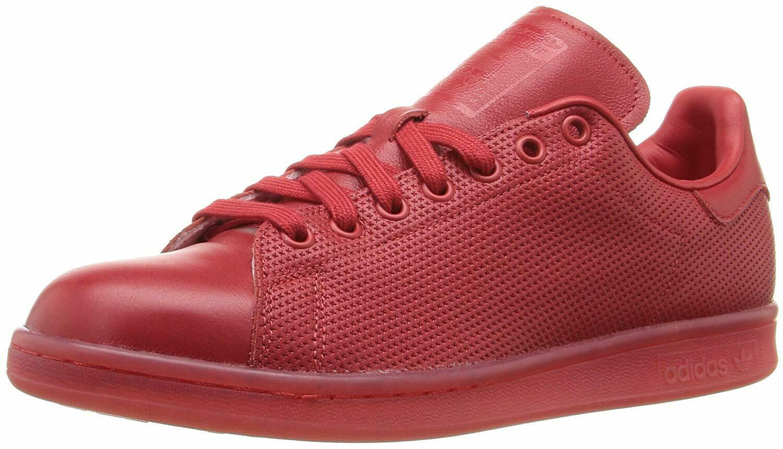 ADIDAS MENS ORIGINALS STAN SMITH ADIColoreeeee scarpe da ginnastica S80248 rosso rosso