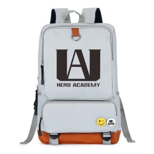 My Hero Academia Backpack Travel Laptop Backpack Shoulder School Bag Rucksack