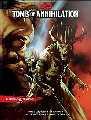 Dungeon & Dragons D&D 5th Edition Tomb of Annihilation Adventure  9780786966103 | eBay