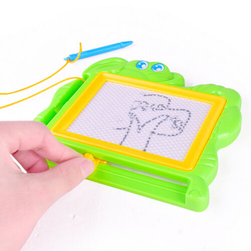 Kids Drawing Board Magnetic Writing Sketch Pad Erasable Magna Doodle Games Fancy