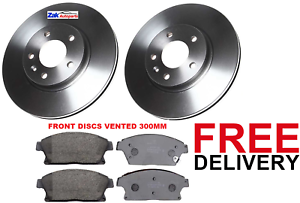 VAUXHALL ZAFIRA TOURER 2011-2016 FRONT DISCS AND PADS BRAND NEW * CHECK SIZE