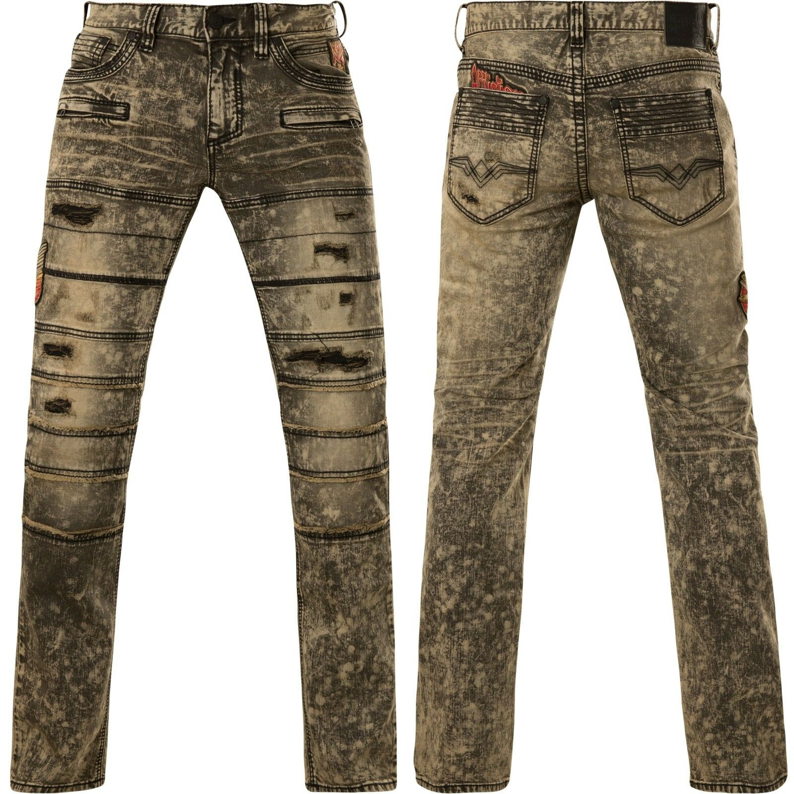 AFFLICTION Jeans Ace Rising Rising Rising Sable Grau 4061a7