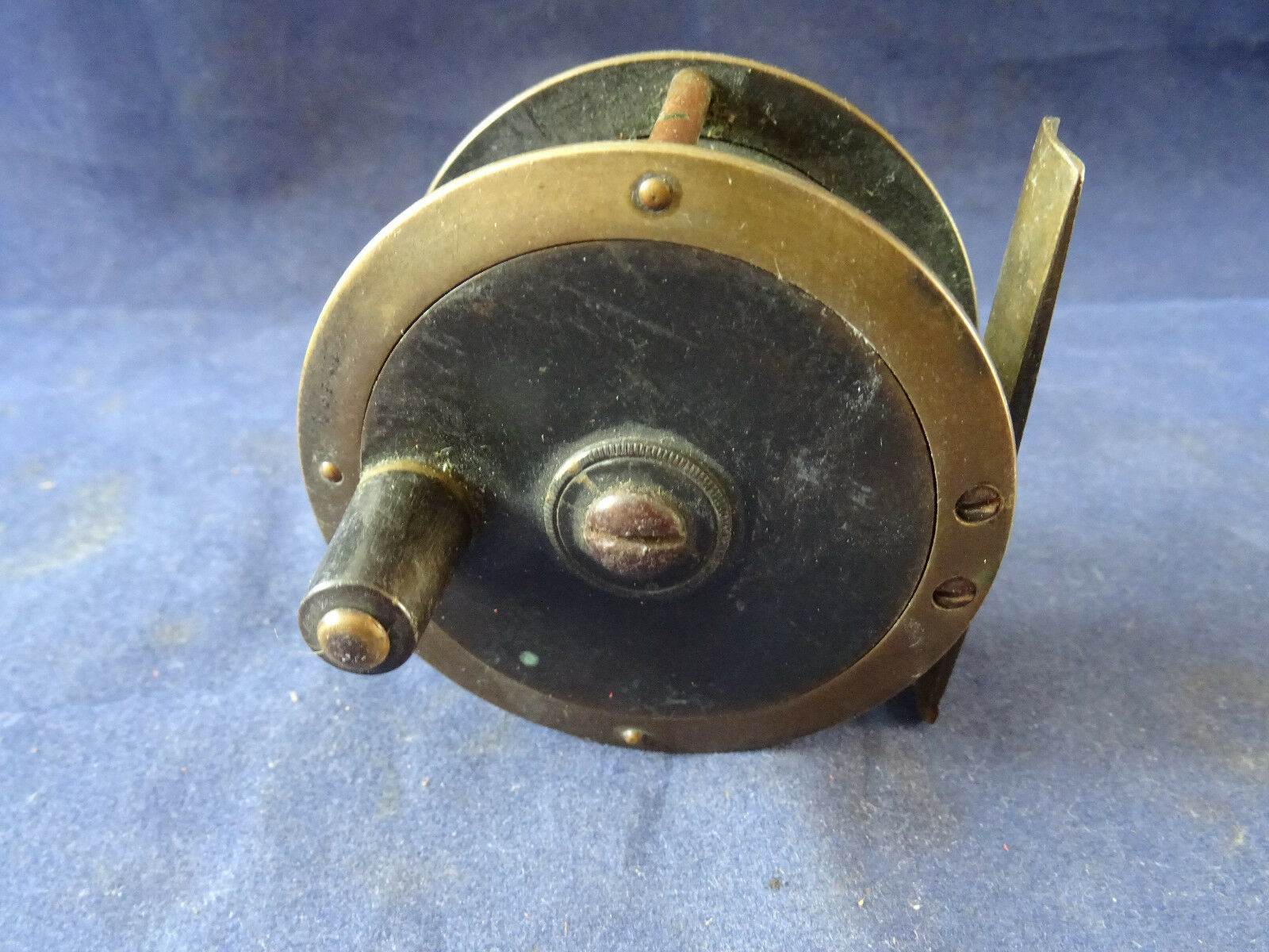 Un raro vintage 2 12 senza nome Lucas oro Bronzo Trossoa Mosca Mulinello
