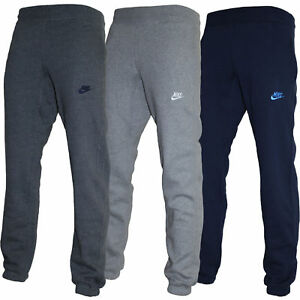 Image is loading New-Mens-Nike-Fleece-Joggers-Tracksuit-Bottoms-Track- 09fed4cf6106