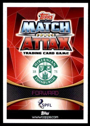 89 2019//2020 Match Attax spfl escocés Florian Kamberi Hibernian no
