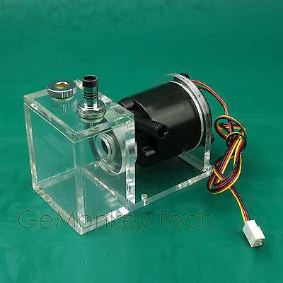 12VDC Liquid Water Cooled Pump & Tank for CPU CO2 Laser