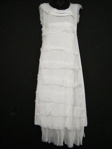 LAGENLOOK COTTON //SILK //VISCO MIX LONG  SUMMER DRESS QUIRKY FUN 10 COLS ONE SIZE