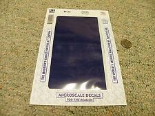Microscale  decals 1/72 1/48 1/32 TF-22 Trim film Royal Blue FS10556   C33