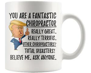 Funny Chiropractor Coffee Mug Trump Gifts Chiropractor Christmas Birthday Gift Ebay