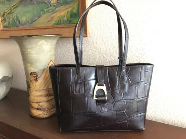 a816673bca12 Dooney   Bourke Denison Emerson Collection Small Shannon Tote  color-Espresso 328