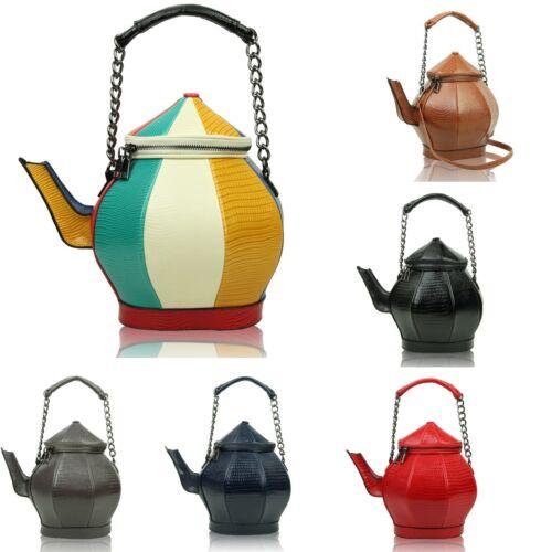 red Teapot multicolor Special Shoulder Handbag Shape Large blue Black Existencias Hobo no Bag Leather Patent brown Gift Hay no grey Ladies Existencias qU7E7