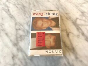 Wang Chung Mosaic CASSETTE Tape SEALED! 1986 Geffen M5G 24115 NEW! RARE! OOP!