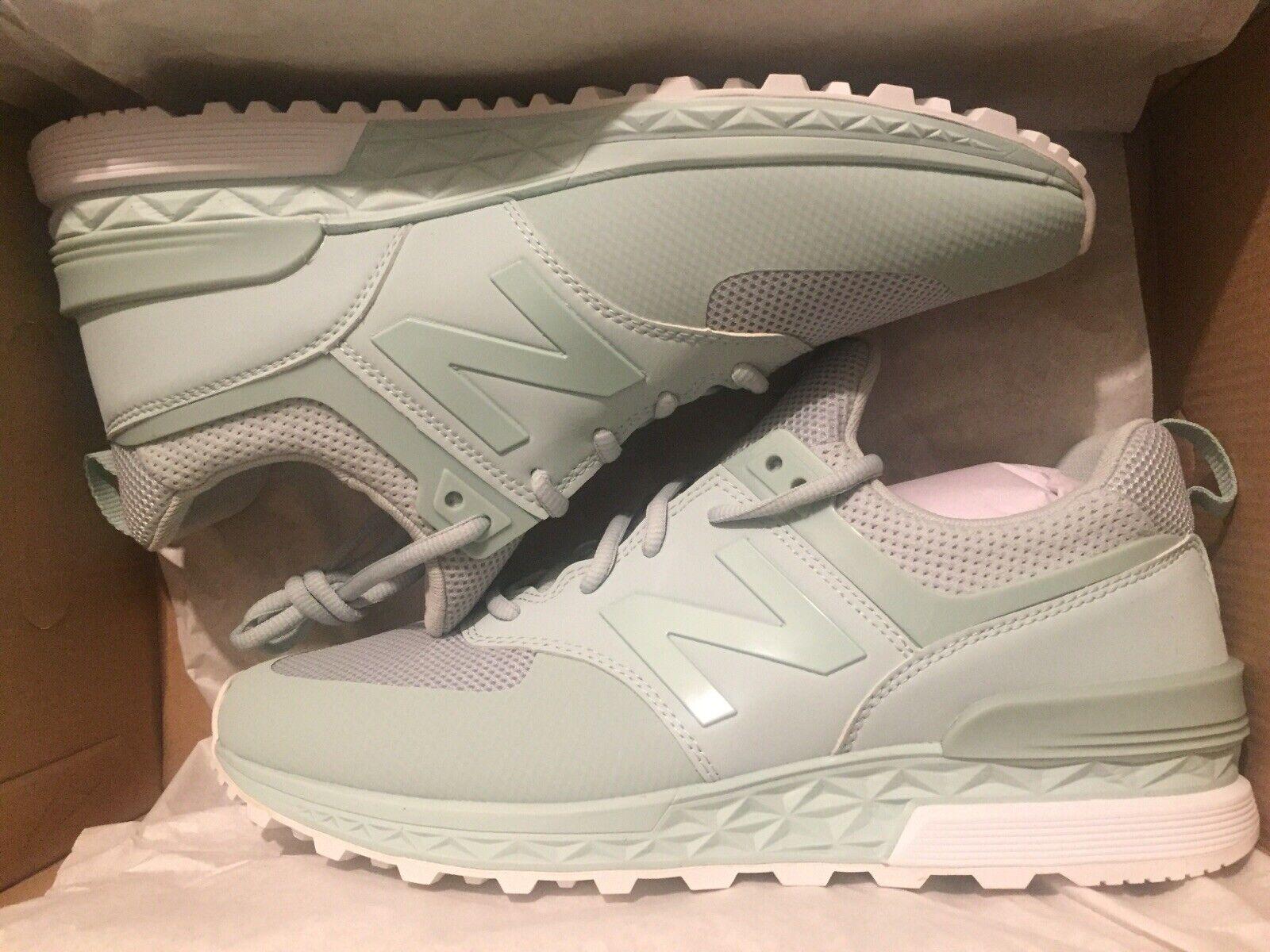 Salvataggio meditazione Allarmante  NIB In Box New Balance 574 Lifestyle Mint Green Men Size 9 Shoes Sneaker  MS574MT for sale online