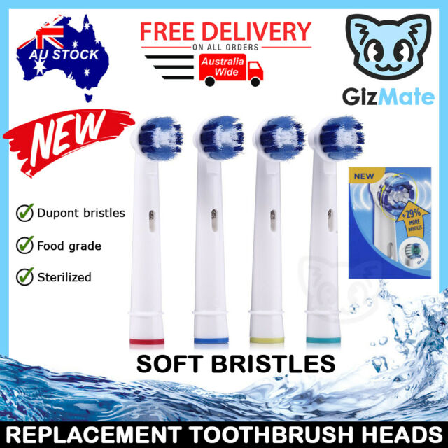 NEW +29% PRECISION CLEAN Oral B Compatible Replacement Toothbrush Brush Heads