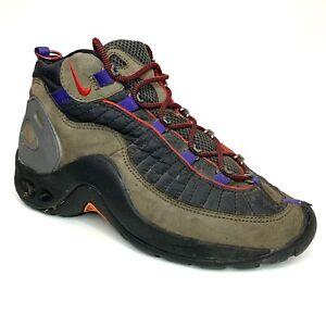Aislar en cualquier momento jueves  Vintage 90s Nike Acg Air 150 enfoque Botas 175082-061 Marrón Negro Azul US  8.5 para hombre   eBay