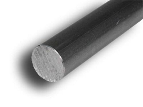 """3 - Lengths Steel Solid Round Stock  3//8/"""" x 1 Ft Unpolished Cold Finish Rod"""