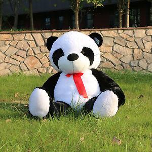 Joyfay-Giant-47-034-Giant-Panda-Bear-Stuffed-Plush-Toy-Valentine-Gift-120cm