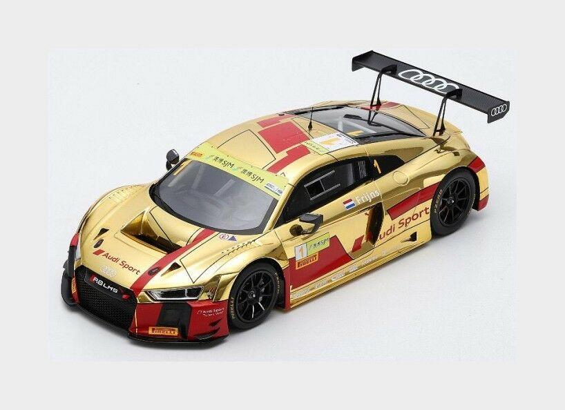AUDI r8 LMS  1 FIA World GT Cup Macau 2017 R. Frijns SPARK 1 18 18sa014 Model