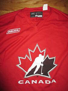 Bauer CANADA CUP (LARGE) / Hockey Jersey RED