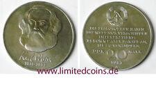 DDR 20 Mark 1983  ~ 100. Todestag von Karl Marx ~  Stempelglanz