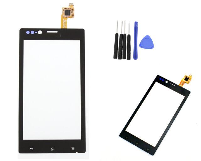 For Sony Xperia J ST26a ST26i Touch Screen Digitizer Sensor Glass Len Black Tool