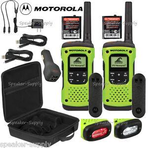 motorola talkabout t605 h2o walkie talkie set 35 mile two way radio rh ebay com motorola t605 instructions