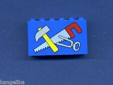 Lego--6213px1--Handwerker--blau--2 x 6 x 3--Sonderstein-