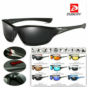 DUBERY D163 Men/'s Polarized Sport Sunglasses Fishing Outdoor Riding  Goggles
