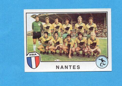 NANTES TEAM Rec SPORT SUPERSTARS//EURO FOOTBALL 82-PANINI-Figurina n.213