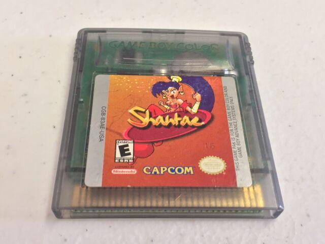 Shantae Nintendo Game Boy Color Game Authentic Genie-Girl GBA Enhanced Rare