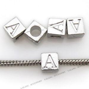 10pcs-Carved-Letter-A-Alphabet-Alloy-European-Charms-Beads-Fit-Bracelets-DIY-BS
