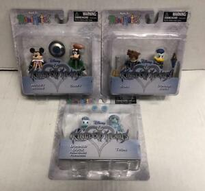 Kingdom Hearts Minimates Series 1 Mickey Mouse /& Goofy