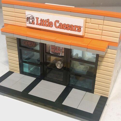 PDF MANUAL LEGO Custom LITTLE CAESARS PARTS LIST /& STICKERS NO PARTS