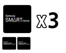 Samsung Door Locks RFID Cards SHS-AKT300 Smart Tag Key Sticker 3-Set Balck NEW
