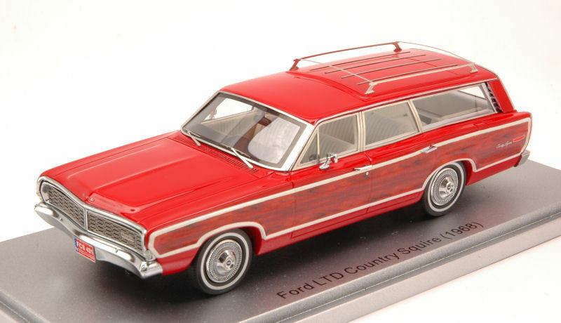 Ford Limited Country Squire 1968 rouge 1 43 Model fort  Model  connotation de luxe discret