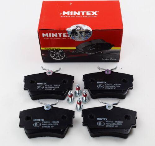 Mintex Essieu Arrière Plaquettes de frein pour Fiat Fits Nissan Renault Vauxhall Opel MDB2258
