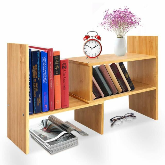 Desktop Off Surface Shelves Desk Accessories Workspace