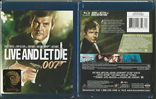 JAMES BOND 007 LIVE AND LET DIE BLU-RAY DISC BRAND NEW SEALED