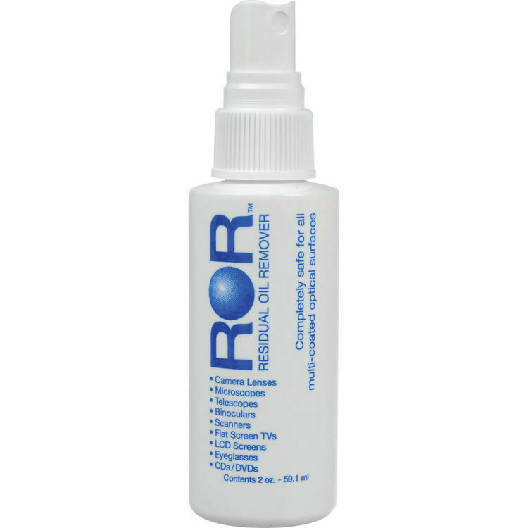 ROR (Residual Oil Remover) 2oz Very High Quality Lens Cleaner - Dropper Style UK