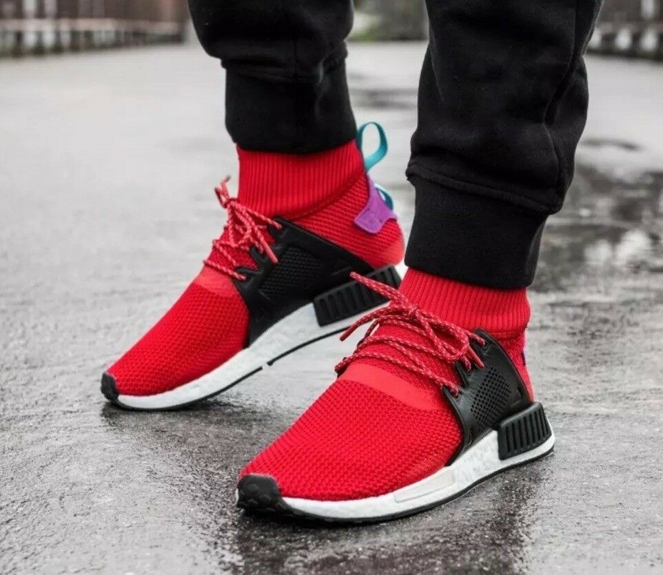 ADIDAS NMD_XR1 WINTER BZ0632 Men's SHOES SIZE 12 US Red multi